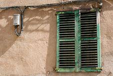 Free Window With Shutter Stock Image - 5222661