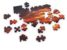 Free Sunset Puzzle Royalty Free Stock Photography - 5222967