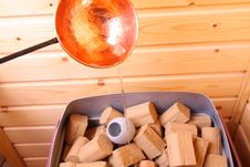 Free Stones On A Sauna Stove Royalty Free Stock Photography - 5223457