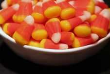 Free Bowl Of Candy Corn Stock Photos - 5223613