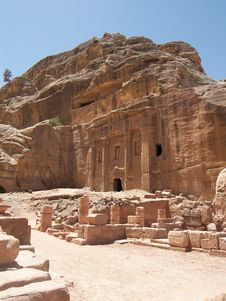 Free Petra, Jordan Royalty Free Stock Photo - 5223665