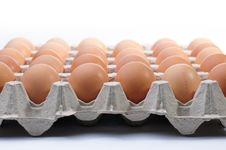 Free Eggs In A Basket Royalty Free Stock Photography - 5223897