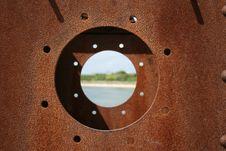 Free Rusty Porthole Royalty Free Stock Photo - 5224095