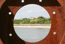 Free Rusty Porthole Close Stock Photography - 5224142