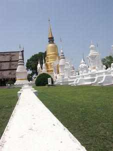 Free Temple In Chiang Mai Stock Image - 5224521