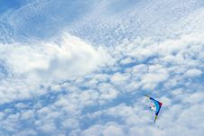 Free Kite Flying In The Blue Sky-freedom Royalty Free Stock Photo - 5224575