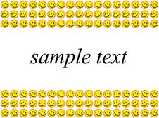 Free Smiles And Sample Text Stock Photo - 5224740