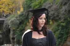 Free Young Woman Graduate Stock Images - 5225494
