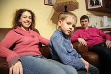 Free Family Rest In Room Stock Photography - 5225522