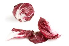 Free Radicchio Leaves And Head Royalty Free Stock Images - 5225879