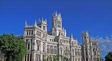 Free Plaza Cibeles Royalty Free Stock Photos - 5225958
