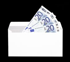 Free Money Gift In Envelope Royalty Free Stock Images - 5226149