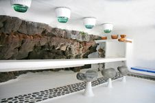 Free Bar In Cave Stock Photos - 5226223