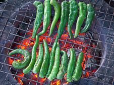 Free Green Chilly Royalty Free Stock Images - 5226349