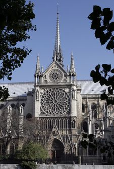Free Notre Dame De Paris, Gothic Cathedral, France Royalty Free Stock Images - 5226409