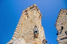 Free Looking Up At The Wallace Monument Stock Photography - 5229392
