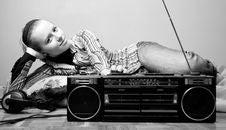 Free Listening Radio Royalty Free Stock Image - 5229736