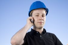 Free Young Contractor Royalty Free Stock Photo - 5229965