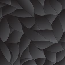 Free Black Volume Abstract Vector Background Royalty Free Stock Photo - 52200465