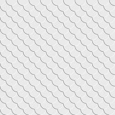White Geometric Seamless Texture Royalty Free Stock Photos