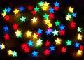 Free Abstract Bokeh Stars Royalty Free Stock Image - 5230906
