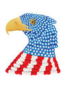 Free Flag Eagle Stock Image - 5232471