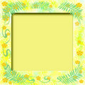 Free Sunny Tropic Frame Stock Images - 5237034