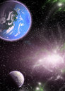 Free Planets In A Space. Stock Photos - 5239633