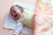 Free Newborn Smiling Stock Photos - 5230423