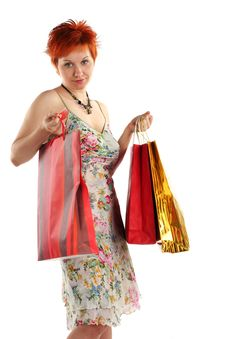 Free Shopping. Stock Photography - 5230582