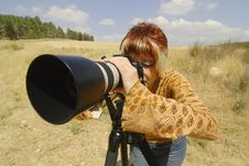 Free Photographer Stock Photography - 5230602