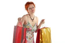 Free Shopping. Royalty Free Stock Images - 5230669