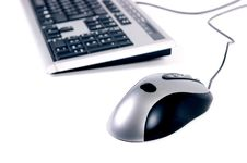 Free Computer Keyboard And Mouse Royalty Free Stock Image - 5230756