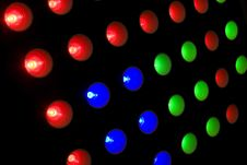 Free LED Lights Royalty Free Stock Photos - 5230768