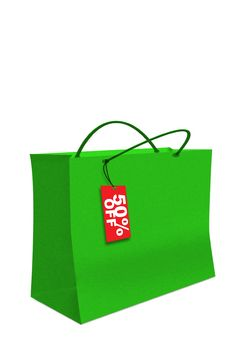 Free Market Shopping Bag Stock Photo - 5230990