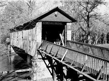 Free Kymulga Bridge Alabama Over River Stock Image - 5231161
