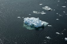 Free Melting Ice In St Lawrence Gulf Royalty Free Stock Image - 5231296