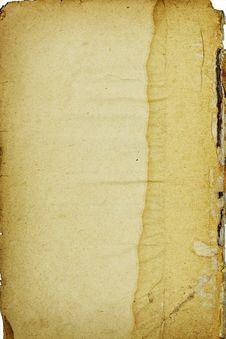 Free Crumpled Retro Paper Stock Photos - 5231673