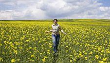 Free Girl Enjoying Spring Royalty Free Stock Photo - 5231735