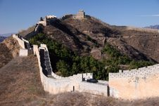 Free Trekking On Great Wall. Royalty Free Stock Images - 5231959