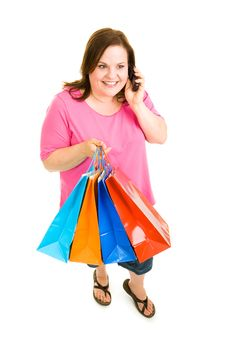 Free Shopping And Talking Stock Photos - 5232083