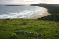 Free Catlins Beach Royalty Free Stock Images - 5232119