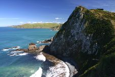 Free Cliff At The Nugget Point Stock Photos - 5232133