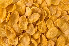 Free Cornflakes Background Stock Photo - 5232640