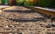 Free Railroad Tracks Royalty Free Stock Image - 5232676