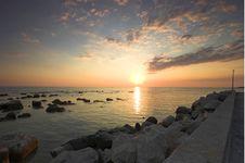 Free Croatian Sunset Royalty Free Stock Photo - 5232915