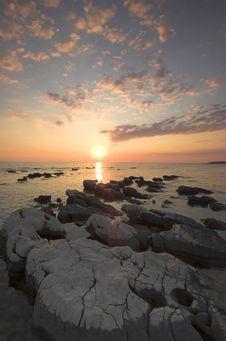 Free Croatian Sunset Stock Photo - 5232920