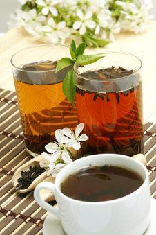 Free Relaxing Cup Of Fruit Tea Stock Photos - 5232993