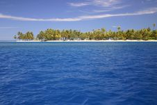 Atoll Rangiroa In French Polynesia Royalty Free Stock Image