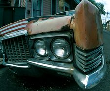 Free In Your Grill Brown Car Royalty Free Stock Photography - 5233527